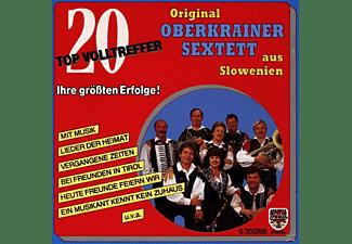 Original Oberkrainer Sextett - 20 Topvolltreffer/Ihre Größten Erfolge  - (CD)