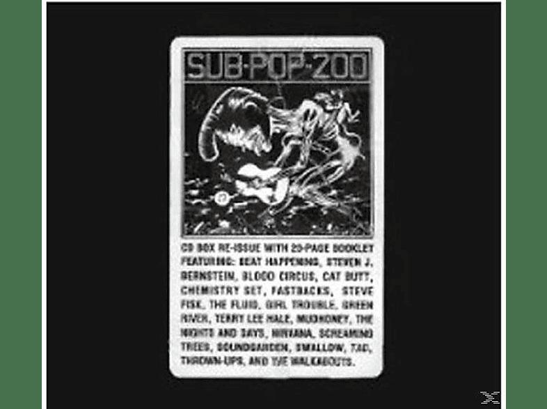 VARIOUS - Sub Pop 200 [CD]