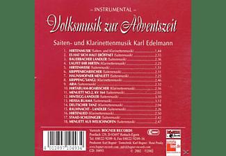 Karl Und Seine Musikanten Edelmann - Volksmusik zur Adventszeit  - (CD)