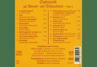 VARIOUS - STUBENM.Z.ADVENTS U.WEIHNACH.4  - (CD)