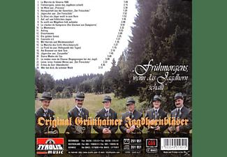 Original Grünhainer Jagdhornbläser - Frühmorgens,Wenn Das Jagdhorn schallt  - (CD)