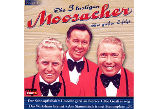 Die 3 Lustigen Moosacher - Ihre grossen Erfolge-Folge 1  - (CD)
