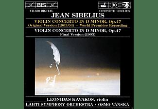 Leonidas Kavakos, Lahti Symphony Orchestra - Sibelius: Violin Concerto In D Minor Op. 47  - (CD)