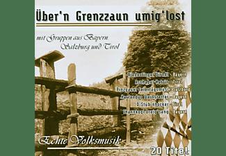 VARIOUS - Über N Grenzzaun Umig Lost  - (CD)