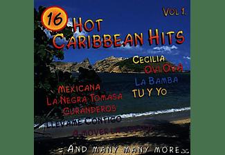 16 Titel - Hot Caribbean Hits  - (CD)