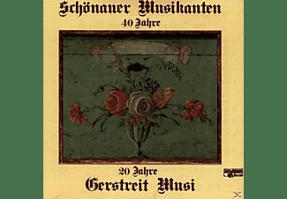 Schönauer Musikanten/Gerstreit Musi - Volksmusik-Instrumental-Schönauer Musikanten 40 J.  - (CD)