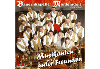 Bauernkapelle Mindersdorf - Musikanten unter Freunden  - (CD)