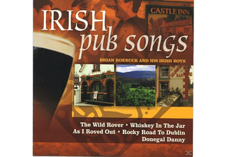 Brian And His Irish Boys Roebuck - Irish Pub Songs  - (CD)