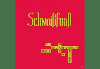 Schwoißfuaß - DU GLAUBSCH DES WAR A SPIEL  - (CD)
