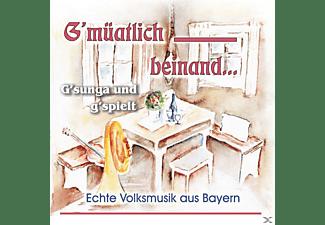 VARIOUS - Gmüatlich Beinand,G'sunga und g'spielt  - (CD)