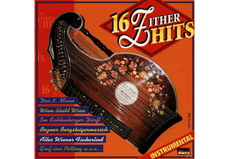 VARIOUS - 16 Zither-Hits/Instrumental  - (CD)
