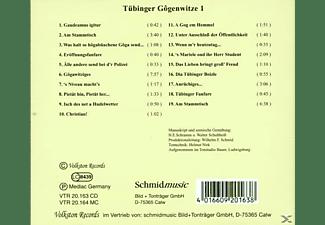 Walter Schultheiß - Tübinger Gogenwitze Folge 1  - (CD)