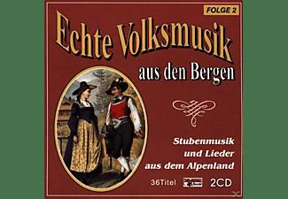 VARIOUS - Echte Volksmusik Aus Den Bergen 2  - (CD)
