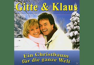 Gitte & Klaus - Ein Christbaum f.d.ganze Welt  - (CD)