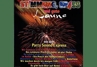 Party Sound Express - Stimmung,Spass U.Gute Laune  - (CD)