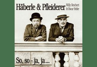 Häberle & Pfleiderer - So,So-Ja,Ja  - (CD)