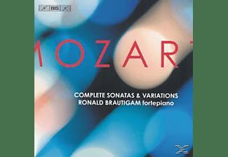 Ronald Brautigam - Sonaten Und Variationen Komple  - (CD)