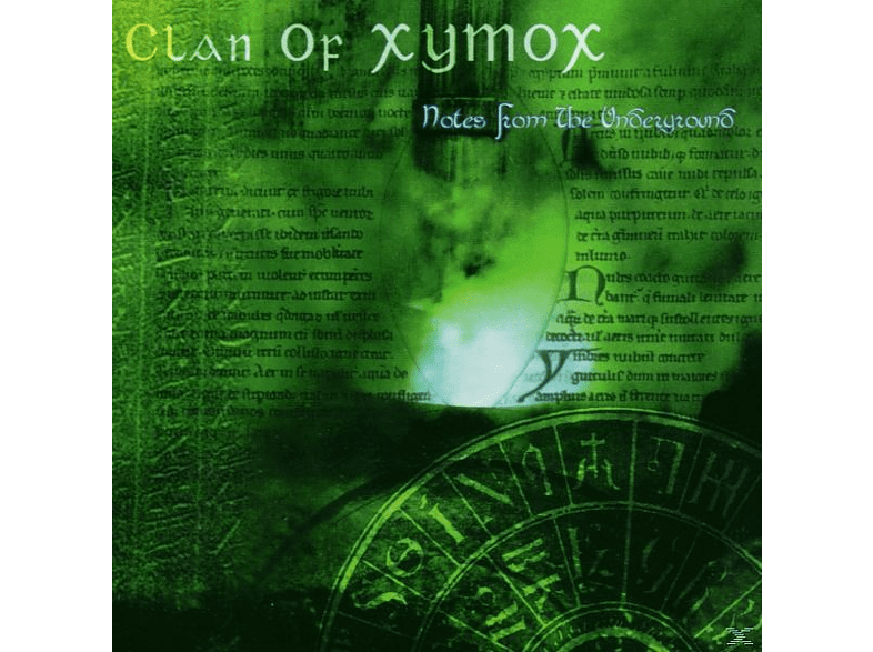 Clan Of Xymox - notes from the underground [CD]