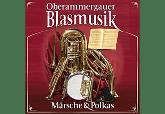 Oberammergauer Blasmusik - Märsche und Polkas  - (CD)
