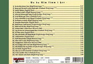 Röpfl - Vo da Alm kimm i her  - (CD)