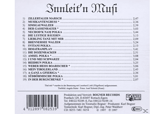 Innleit'n Musi - Instrumental  - (CD)