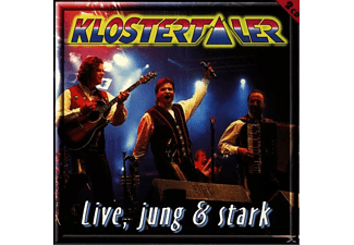 Klostertaler - Live,Jung Und Stark  - (CD)