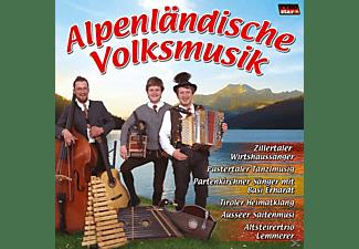 VARIOUS - Alpenländische Volksmusik  - (CD)