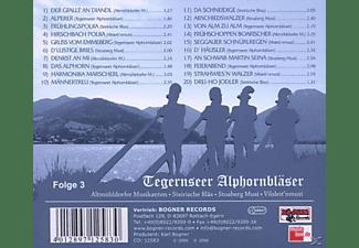 VARIOUS - Tegernseer Alphornbläser  - (CD)