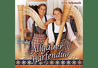 Allgäuer Harfenduo - So Klingt's  - (CD)