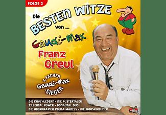 """Franz """"gaudimax"""" Greul - DIE BESTEN WITZE VON   FOLGE 2  - (CD)"""