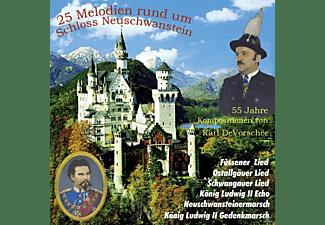 VARIOUS - 25 Melodien rund um Schloss Neuschwanstein  - (CD)