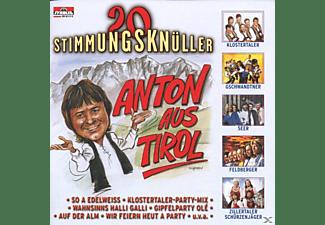 VARIOUS - Anton Aus Tirol-20 Stimmungsknüller  - (CD)