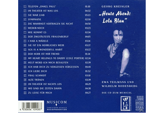 "Ewa Teilmans - ""Heute Abend: Lola Blau""  - (CD)"
