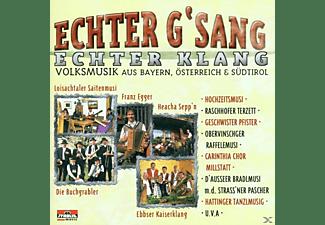 VARIOUS - Echter Gsang, Echter Klang  - (CD)