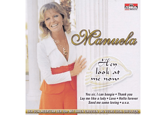 Manuela - Hey Look At Me Now  - (CD)