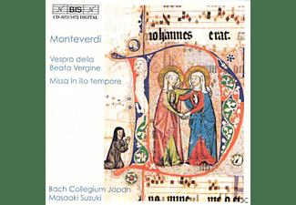Bach Collegium J - Marienvesper/Missa In illo tempore  - (CD)