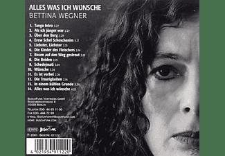 Bettina Wegner - Was Ich Mir Wünsche  - (CD)