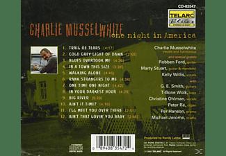 Charlie Musselwhite - One Night In America  - (CD)