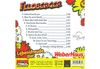 Feldberger - Lebensfreude Pur  - (CD)