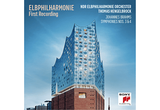 Ndr Elbphilharmonie Orchester - Sinfonien 3 & 4  - (CD)