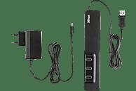 TRUST 20575, USB-Hub, Schwarz