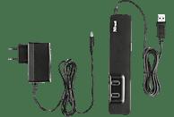 TRUST 20576, USB-Hub, Schwarz