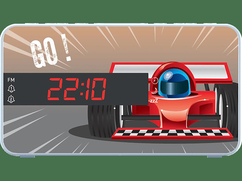 BIGBEN Wekkerradio RR15 Car Wit (RR15CARS)