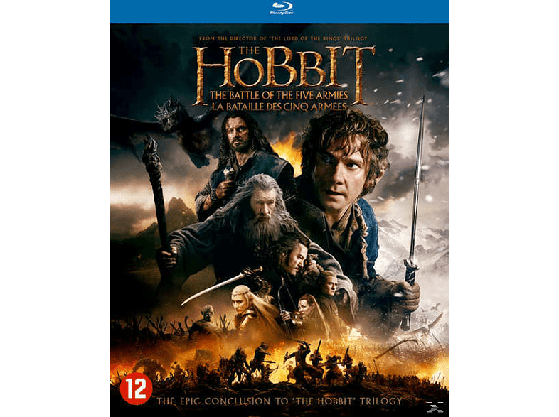The Hobbit: The Battle of the Five Armies Blu-ray
