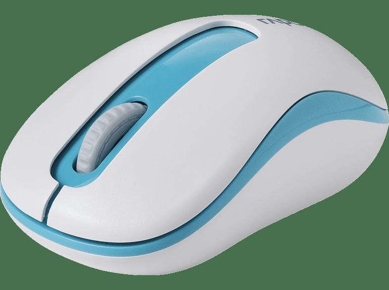 RAPOO M10 Plus Maus, Blau/Weiß