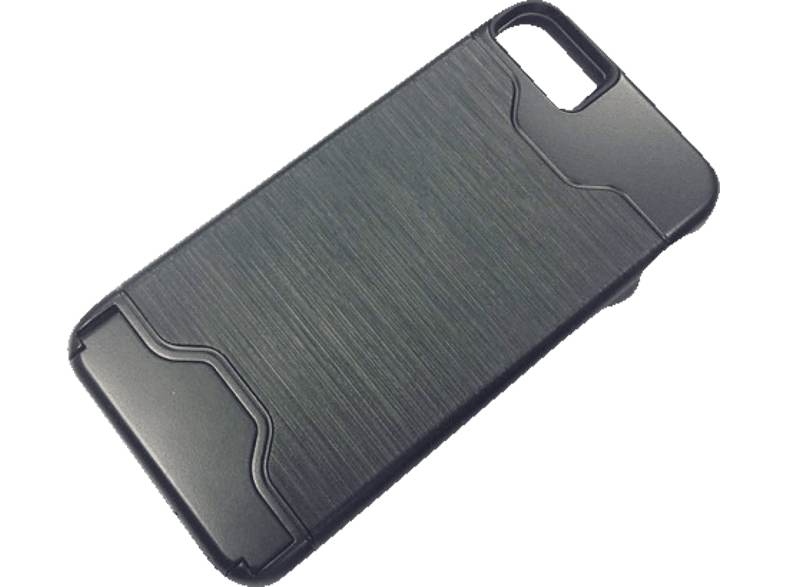 AGM 26466 , Backcover, Apple, iPhone 7, Kunststoff, Schwarz