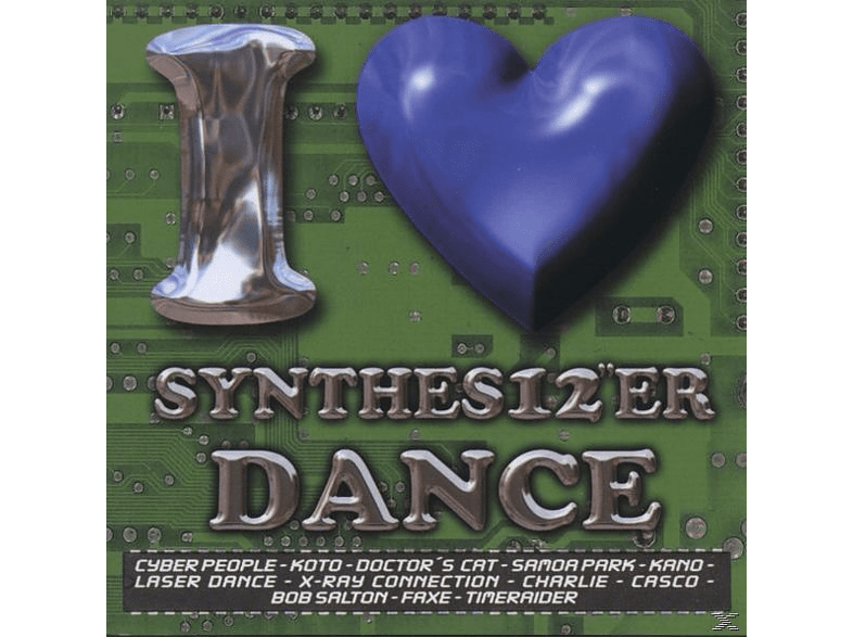 VARIOUS - i love synthes12er dance [CD]