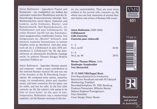 Thomas-mifune - Cellokonzerte  - (CD)