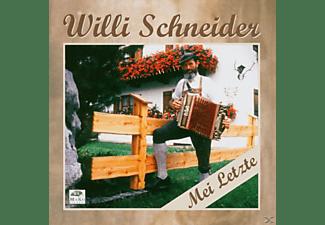 Willi Schneider - Mei letzte  - (CD)