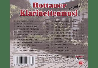 Rottauer Klarinettenmusi - 25 Jahre-Folge 2  - (CD)